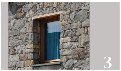 3 verlegungstipps abita sistema - Cornici finestre in pietra ...